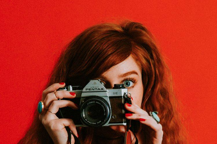 mulher fotografia